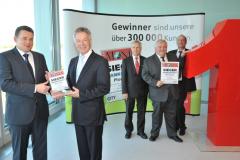 "Pressekonferenz \""Sieger Bankentest\"""