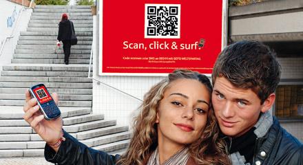 Scan, click & surf - Weltspartagskampagne 2009 der Sparkasse Pforzheim Calw