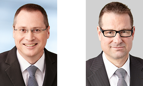 Unsere Testamentsvollstrecker: Matthias Belser (li.), Jürg Thomas (re.)